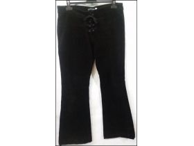 ***BLACK and SILVER***SOMOT PANTALONE Vel. L