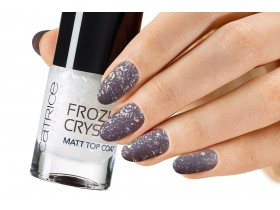 CATRICE FROZEN CRYSTAL MATT TOP COAT