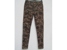 *DENIM*     military farke     M
