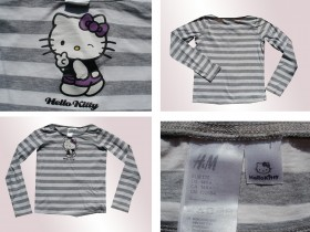 ***H&M i HELLO KITTY * MAJICA  ZA DEVOJCICE **