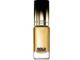 LOREAL GOLD OBSESSION NAIL POLISH