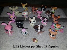 LPS Littlest Pet Shop figurice - 19kom