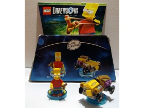 ++ Lego Dimensions - Bart - Simpsons +++