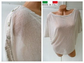 * MADE IN ITALY * atraktivna bluza KAO NOVA! L/XL