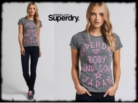 **SUPERDRY** BODY AND SOUL MAJICA!!!