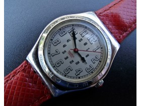 "***SWATCH*** Irony ""Red Amazon"" - SWISS MADE"