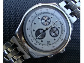 ***SWATCH*** Irony Steel Chronograph - SWISS MADE