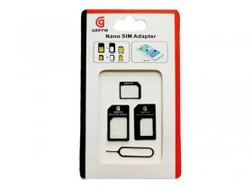 -Sim Adapter Griffin black micro/nano--