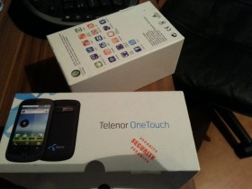 ##TELENOR Alcatel One Touch OT-990X ORIGINAL KUTIJA**