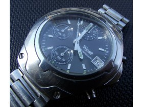 ***WEST*** Black Line Chronograph - Made in Germany