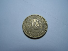 10 CENTIMES 1969