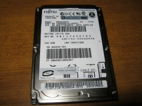 100 GB ATA harddisk za laptop 100% helt