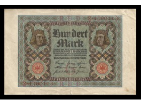 100 Mark -GERMANY-1920(7 br.)