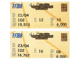 1998, FINAL FOUR EUROLEAGUE, OBA DANA ! PARTIZAN...