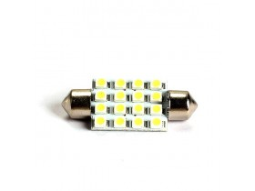 1x 41mm 16SMD LED Festoon - Bela