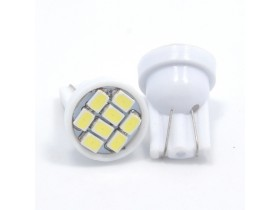 2 x LED sijalice T10 8 SMD LED diode