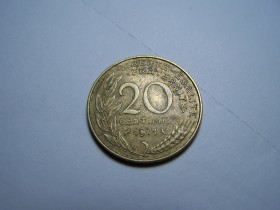 20 CENTIMES 1971