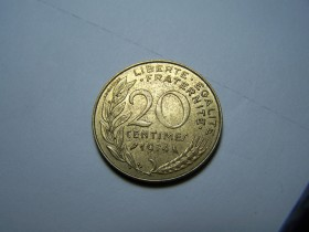 20 CENTIMES 1974