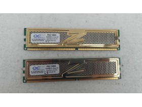 2x ocz1gb 667mhz ddr2 gold edition GX XTC br63+64