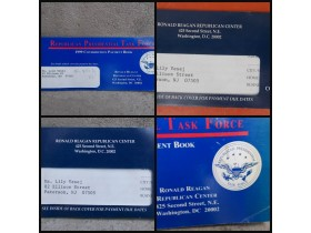 3 Republican Presidental  Payment Books 1995,92 i 99g