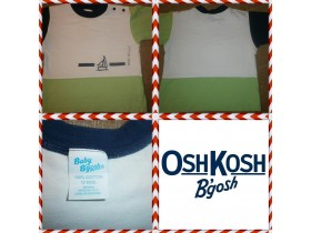 3 majice Baby B`gosh by OshKosh, Baby Club..vel.80.