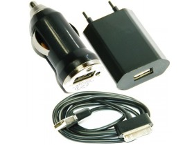 3u1 USB Punjac za iPhone 4S 4 3GS 3G 2G iPod Novo