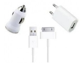 3u1 USB Punjaci za iPhone 4S 4 3GS 3G 2G iPod