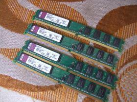 4gb(4X1gb )DDR2 /800mhz Kingston-ispravne!