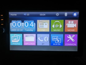 7inch Radio touch screen bluetooth