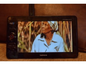 "9"" PORTABLE LCD TV/ DVBT LENCO"