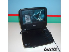 == PHILIPS PORTABLE DVD PLAYER / 7inča ==