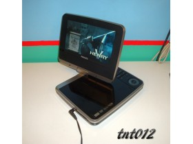 == PHILIPS PORTABLE ROTO DVD PLAYER / 7inča ==