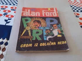ALAN FORD BROJ 282 POP ART GROM IZ OBLACNA NEBA