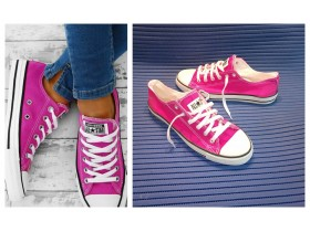 ALL STAR pink roze starke patike 40