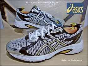ASICS Gel Blackhawk 4 White,Indonesia