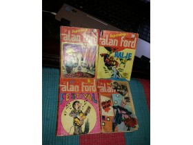 Alan Ford Superstrip LOT