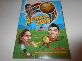Album  Afrika 2010, karikature,one2play,10% popunjen