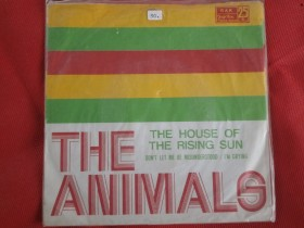 Animals singl House of rising sun