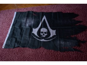 Assassin`s Creed Black Flag zastava