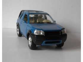 Auto BURAGO LAND ROVER Freelander Made in China  1/24