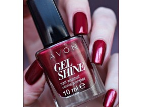 Avon Gel Shine lak za nokte - Red Velvet