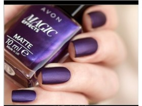 Avon Magic Effects Matte lak za nokte -VIOLETTA