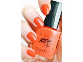 Avon Speed Dry lak za nokte ART ORANGE