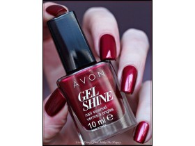 Avon nov Gel Shine lak sa efektom gela - Red Velvet