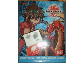 BAKUGAN Anima album i preko 200 slicica za album