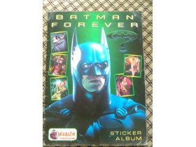 BATMAN FOREVER MERLIN STICKER ALBUM