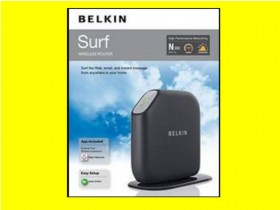 BELKIN F7D2301 Wireless Router N300 mbps MIMO Technolog