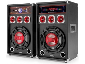 BLUETOOTH ZVUČNICI 2.0 100W INTEX DJ-215K SD/USB/FM