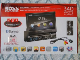 BOSS audio CD/DVD/MP3/AM-FM,Bluetooth/Handsfree za kola