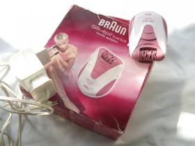 BRAUN epilator/depilator kao NOV